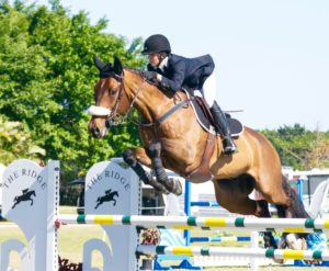 Kristy Herrera and Cordaba AG Z (Photo courtesy of Equinium Sports Marketing)