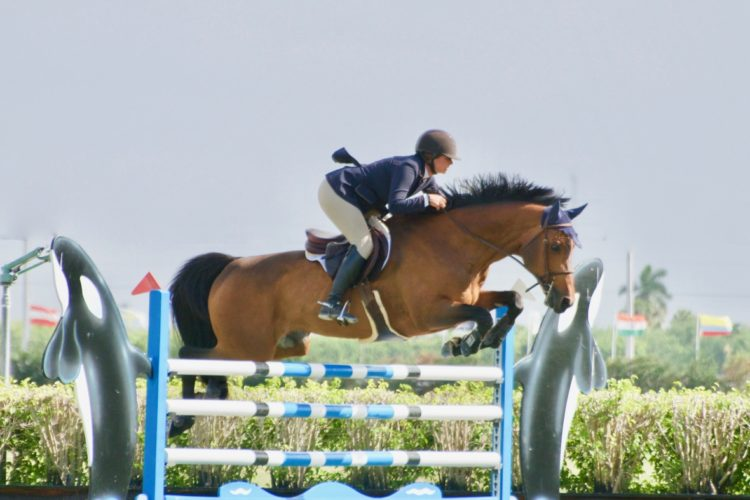 Goldman and Sovereign Reign in $15,000 1.40m Turf Tour Grand Prix