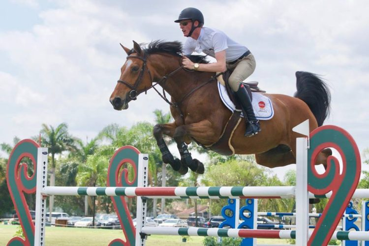 Fortuitous Finale: Daniel Coyle and Fortis Fortuna Victorious in 1.40m Turf Tour Grand Prix